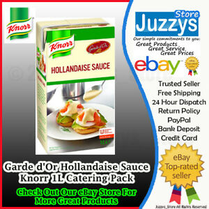 Knorr Garde D'or Hollandaise Sauce 1L FREE POSTAGE