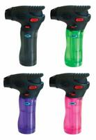 Jet Torch Gun Lighter Adjustable Flame Windproof Butane Refillable Pack of 4