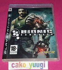 BIONIC COMMANDO PS3 SONY TRES BON ETAT VERSION 100% FRANCAISE