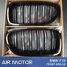 2011-2016 Carbon Look M5 Look Front Grille Grill For BMW F10/F11 520i 535i 550i