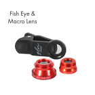 Gln Technology 3-In-1 iPhone - Android Phone Lens-Fish Eye, Wide Angle and Macro