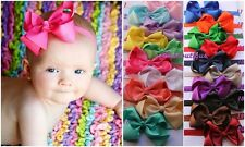 20pc baby headband infant bow girl hair accessories hair newborn gift US seller