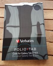 "Verbatim Folio Case for Samsung Galaxy Tab 2 10.1"" Graphite Black"