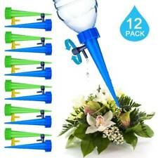 12Pcs Automatic Watering Irrigation Spike Home Garden Plant Flower Sprinkler Set