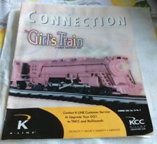 MAGAZINE BOOK K-LINE GIRLS TRAIN O O/27 SCALE
