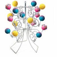 Cake Pop Decoration Stand Lollipop Decorating Coated Steel Holder Display 18pcs