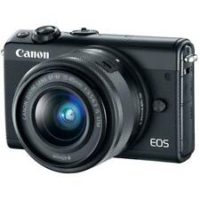 "Canon EOS M100 15-45mm 24.2mp 3"" DSLR Camera New Cod Agsbeagle"