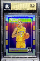 Lonzo Ball 2017-18 Donruss Optic The Rookies Holo ROOKIE RC #2 GEM BGS 9.5 POP 9