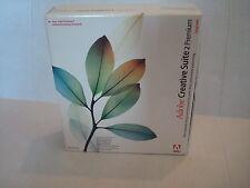 Adobe Creative Suite 2 Premium Upgrade Software - MAC (Retail Box) w/serial #