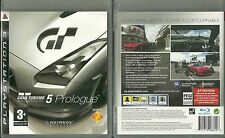 JEU PlayStation 3 PS3 : GRAN TURISMO 5 PROLOGUE ( SONY ) COMME NEUF / FRANCAIS