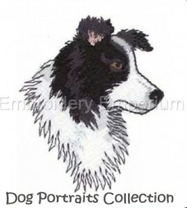 DOG PORTRAITS COLLECTION - MACHINE EMBROIDERY DESIGNS ON CD OR USB