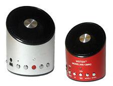 MINI CASSA STEREO PORTATILE USB E SD CON RADIO FM PC TABLET MP3 SMARTPHONE FON9
