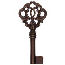 Antique Furniture, Cupboard Lock Ornate Keyblank -LQQK! Free Postage!