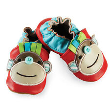 Mud Pie Baby MONKEY SHOES  Size 0-6 Months 174243 Safari Collection