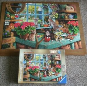 JIGSAW by RAVENSBURGER LTD ** IS HE WATCHING? ** 1000 PIECES - COMPLETE