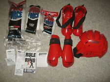 Proforce And Macho Sparring Gear Child Youth