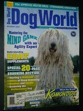 Dogs World Illustrated Magazine Komondor Cover + Photos & Articles Oct. 2003
