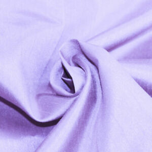 """LILAC SHANTUNG FAUX SHOT SILK 45"""" WIDE 5 METERS END OF ROLL 019"""