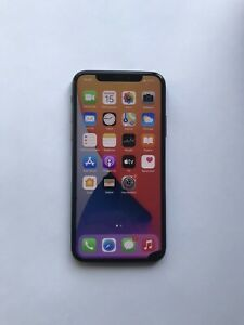 Apple iPhone X - 64GB - Black , unlocked, Works with any sim card