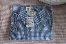 Abercrombie & Fitch Men's Medium Blue Casual Shirt