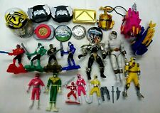 Used Collection Power Rangers Action Figures,Toys & More 26pcs FUn For Kids