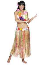 Hawaiian Hula Falda Damas Varios Colores En Beach Party hierba Falda 79cm