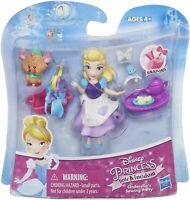 HASBRO Disney Princess Little Kingdom CINDERELLA's SEWING PARTY SNAP IN PLAYSET