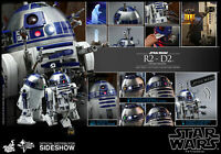 Hot Toys Star Wars R2-D2 Dexlue Version 1/6 Scale Diecast Figure In Stock