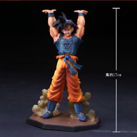 Anime Dragon Ball Z Goku Genki DamaSpirit Bomb PVC Action Figure Figurine Toy