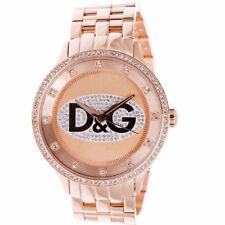 New Dolce & Gabanna D&G DW0847 Rose Gold Prime Time Ladies Womens Watch RRP £289