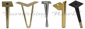 New replacement LEGS / FEET for uk FURNITURE sofas, stools, table, bed