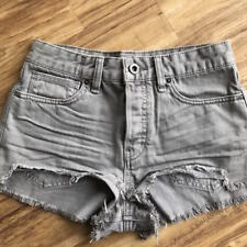 FREE PEOPLE Logan Denim Shorts W25