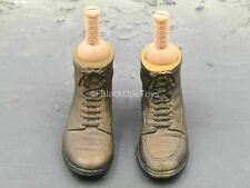 1/6 scale toy Indiana Jones - Brown Dress Shoes w/Pegs