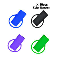 10pcs Silicone Lighter Set Lighter Holder Cover Cigarette Tool Accessories