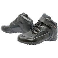 Weise Urban Leather Motorcycle DINTEX Waterproof Boots Free Polishing Kit