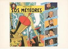 """ex libris Jacobs: """"SOS Météores"""" - non signé"""