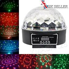 DMX512 Stage Lighting Party Crystal Ball Laser LED Club Disco Light Music Active