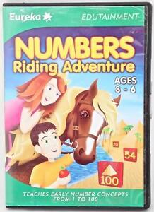 Numbers Riding Adventure Counting Maths Education Windows Computer Game Age 3-6+