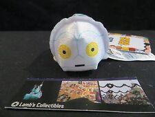 "K-3PO Star Wars Hoth (tm) Tsum Tsum Star Wars mini 3.5"" Disney Store plush toy"