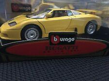 Bburago BUGATTI EB 110 Special Collection yellow 1/18 COD. 3055