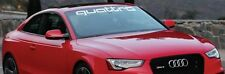 Audi quattro Windshield Banners Cars Stickers Decals TT Graphics