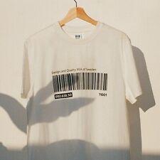 Ikea Japan Tshirt L/Xl (Us Size M) EftertrÄDa Collection White