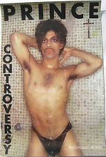 PRINCE Poster Controversy UK 1981 Very Rare Original 'In-Store' Rolled 1st Ever