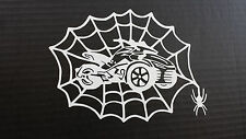 CAN-AM SPYDER F3- WEB WITH SPIDER WINDOW DECAL/STICKER - 13 COLORS