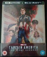 Steelbook Captain América The First Avenger 4k Zavvi Neuf