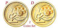 2-coin-set 2019 P-D American Innovation Pennsylvania Dollar $1 US Mint