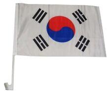 "12x18 Wholesale Lot 12 South Korea Country Car Vehicle 12""x18"" Flag"