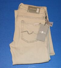 NWT 7 FOR ALL MANKIND CLASSIC STRAIGHT LEG JEANS WOMEN'S SIZE 25 Made in USA