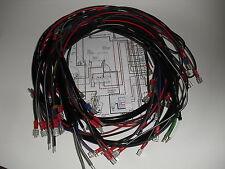 Simson Kabelbaum Kabelsatz Kabel SR50 SR80 Roller + FARBIGER SCHALTPLAN