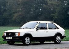 Vauxhall-Opel Astra Mk1 Kadett D,Photo DVD 1979-1984 inc GTE, SR ect